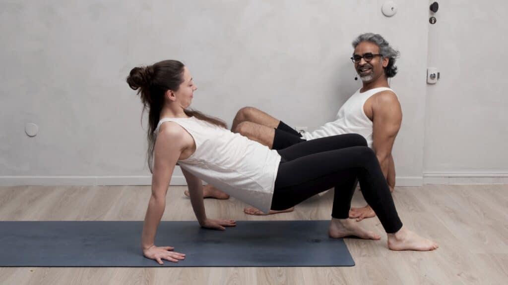 Yoga et télétravail